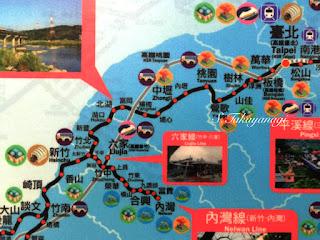台湾旅行「台北駅」から普通列車で「新竹駅」へ 内湾線に乗り換える ローカル線の旅