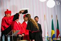 festa de formatura com duas formandas realizada no salão dos espelhos do clube do comércio em porto alegre para comemorar a graduação em direito pela pucrs com decoração clássica elegante e sofisticada por fernanda dutra eventos
