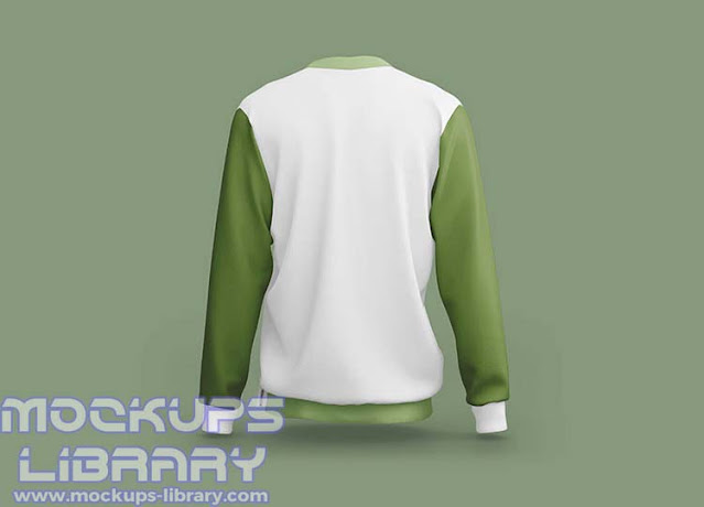 sporty sweatshirt mockup 2