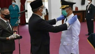 Gubernur Kalbar Resmi Lantik Pj Bupati Bengkayang