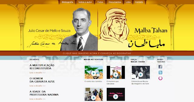 """""""Site de Malba Tahan"""""""