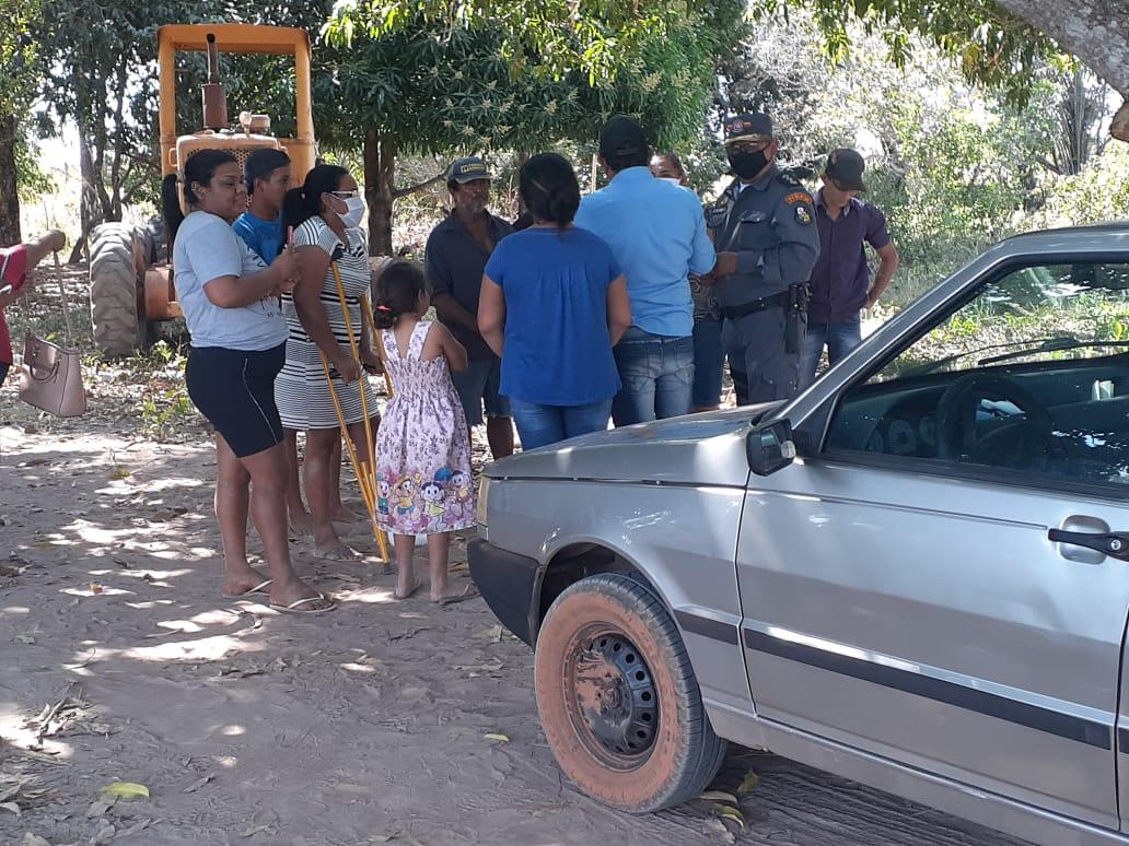 Vereador impede prefeitura de trabalhar e PM é acionada na Forquilha do Rio Manso.