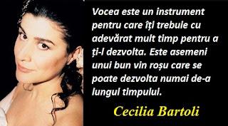 Citatul zilei: 4 iunie - Cecilia Bartoli