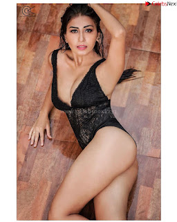 Ruma Sharma in Black swimsuit .xyz Exclusive Pics