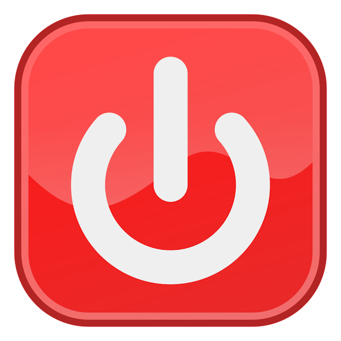 Shutdown Button Computer Icons, restart, text, trademark png free png