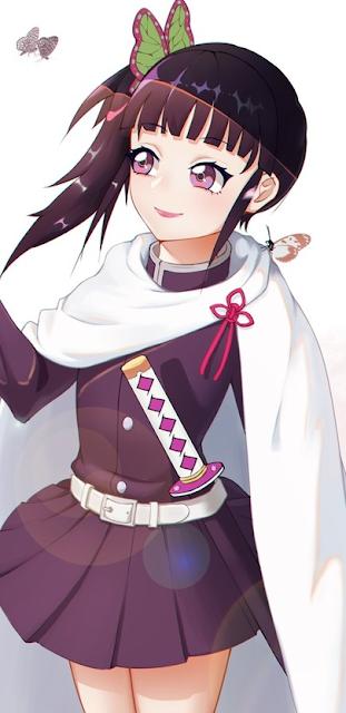 kanao tsuyuri kimetsu no yaiba smile