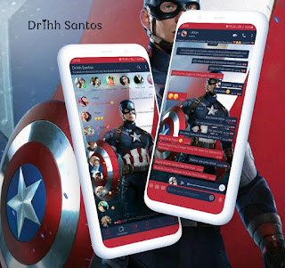 Captain America Theme For YOWhatsApp & Fouad WhatsApp By Driih Santos