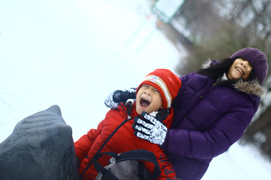 winter at the park, Park Visits With The Kids on Any Season