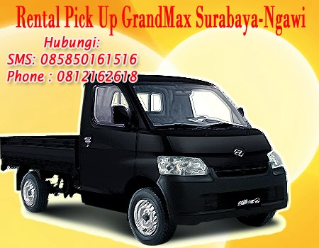 Sewa Pick up Granmax Surabaya-Ngawi