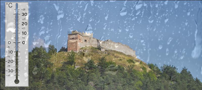 Погода в Кременці на 5 днів: злива, сонце та гроза