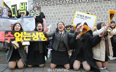 Over 606,000 high school students in South Korea took the College Scholastic Ability Test on Thursday.