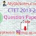 CTET Question Paper in Hindi PDF