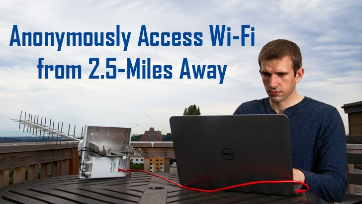 How to Anonymously Access Wi-Fi from 2.5 Miles Away Using This Incredible Device