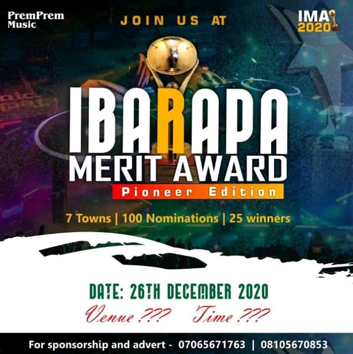 PremPremMusic-Unveils-List-of-Categories-For-The-First-Edition-of-IBARAPA-MERIT-AWARD-2020-Teelamford