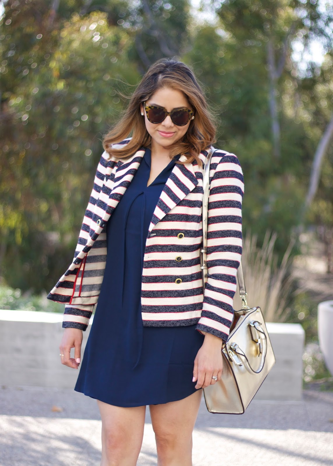 mexican fashion blogger, life of a fashion blogger, nautical fashion, nautical outfit