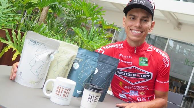 Luis Flauzino renueva con el Pelotón Tenerife y Day Off se une al proyecto