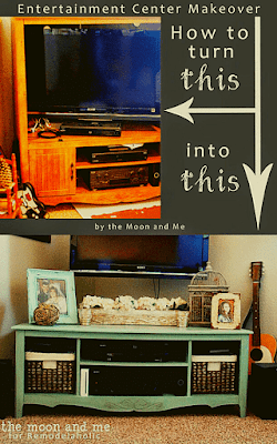 wall unit Into A TV console