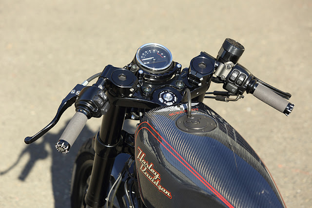 Harley Davidson XL1200CX By Sure Shot Hell Kustom