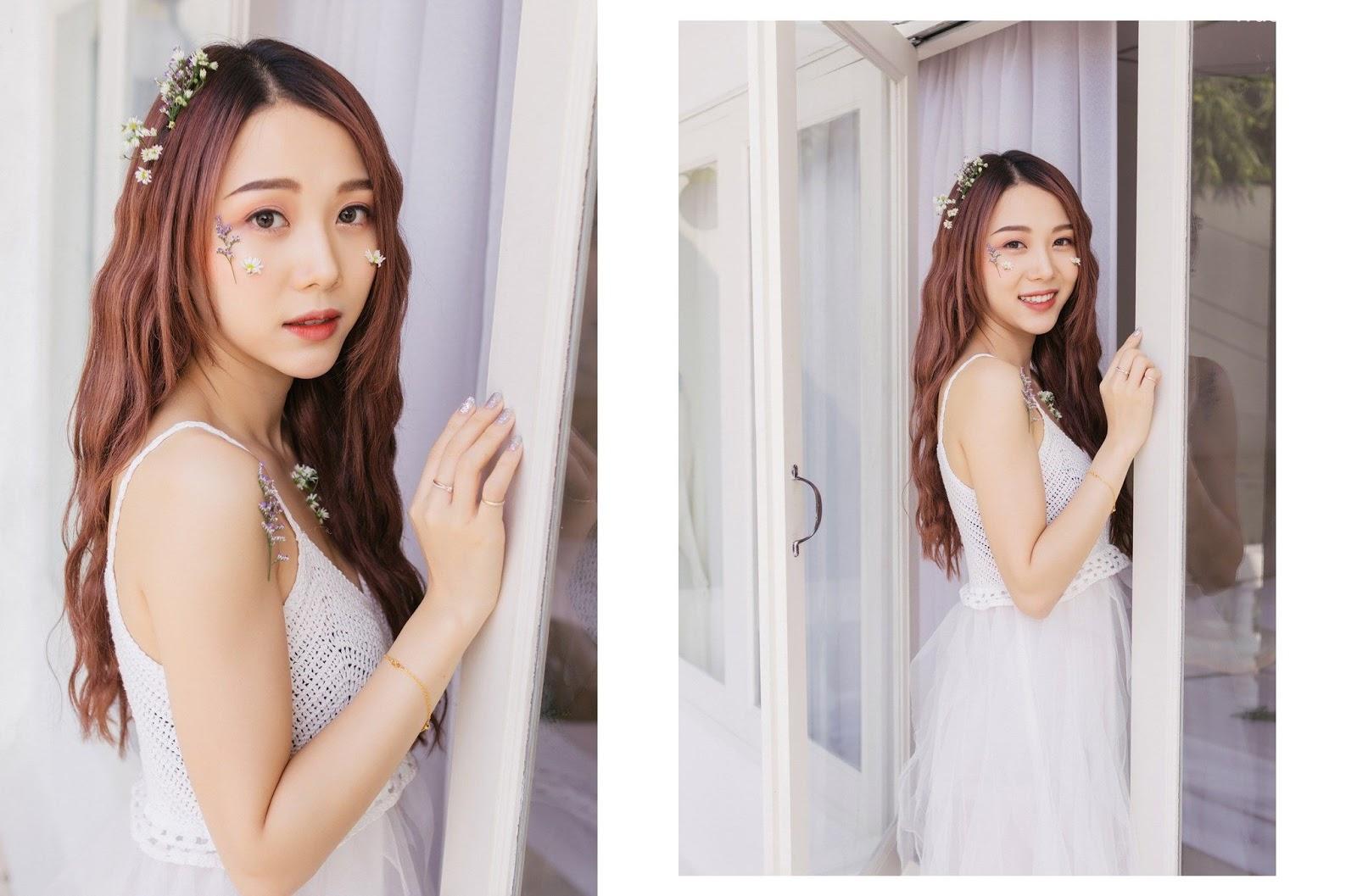 Thailand beautiful model Popor Saechur with photo album Little Princess - Picture 6