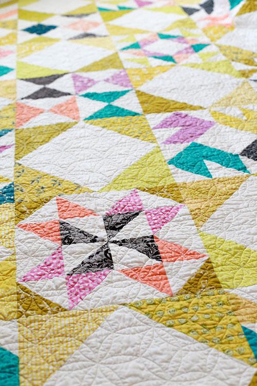 In Color Order Patchwork Essentials Interlaced Quilt