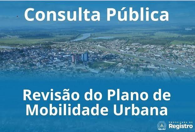 Prefeitura de Registro-SP abre consulta pública para revisão do Plano de Mobilidade Urbana
