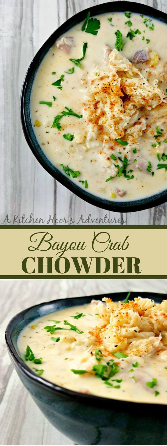 BAYOU CRAB CHOWDER #dinner #lunch