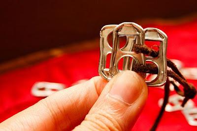 como hacer pulseras recicladas
