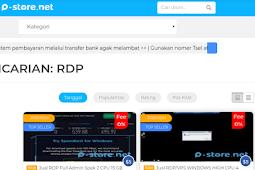 P-store - Tempat Jual Beli RDP Dan Produk Virtual Termurah
