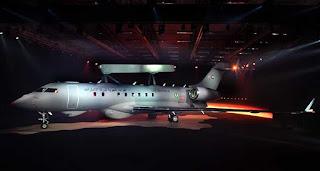 Pesawat GlobalEye Pesanan Uni Emirat Arab