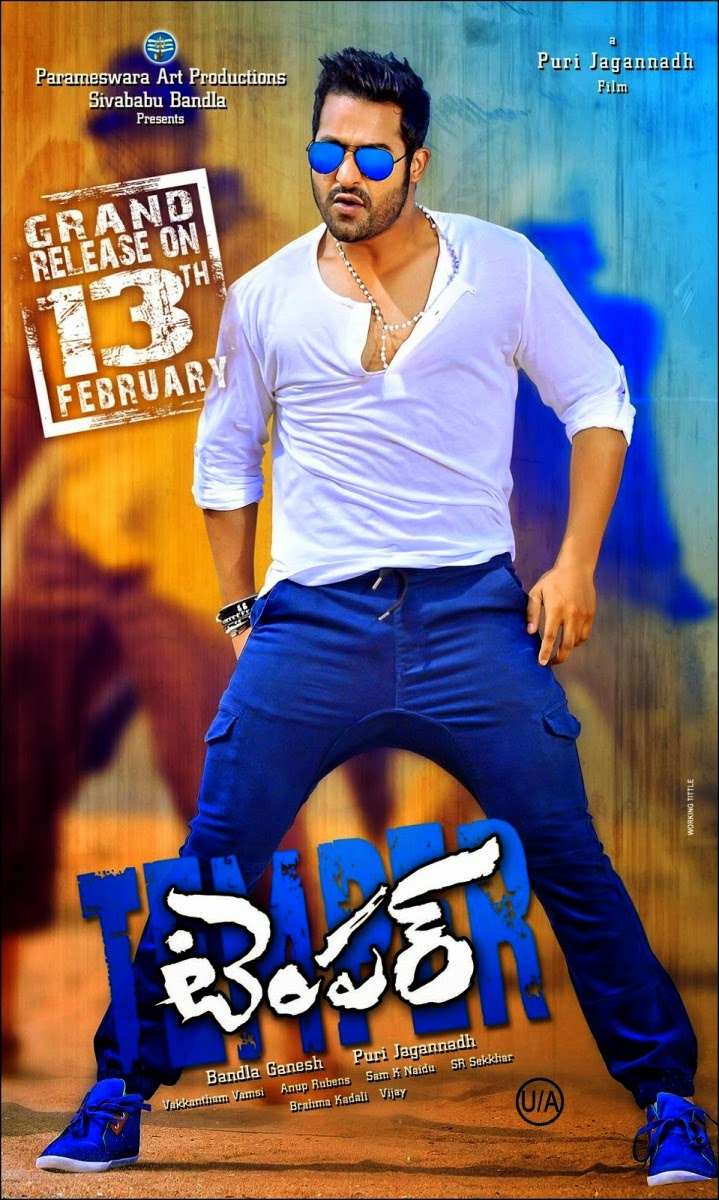 Temper Telugu Movie Release Date Posters and HD Wallpapers