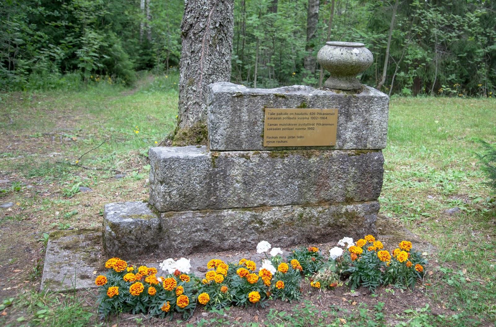 Pitkäniemen sairaalan vanha hautausmaa