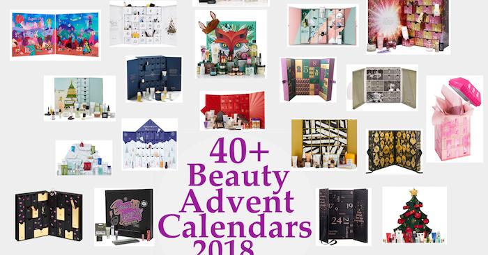 all 40 best beauty advent calendars 2018 spoilers. Black Bedroom Furniture Sets. Home Design Ideas