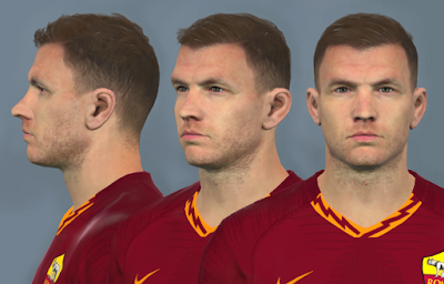 PES 2017 Faces Edin Dzeko by Dewatupai