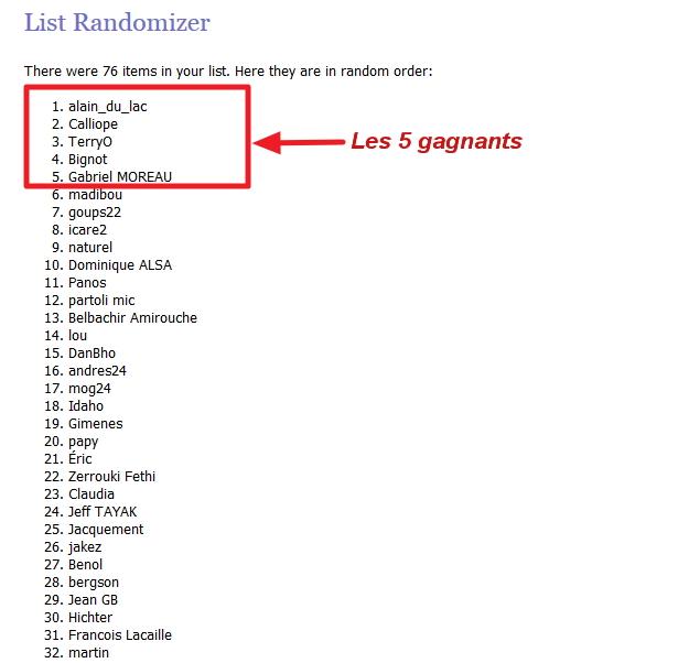 Résultat du tirage au sort du concours Able2Extract PDF Converter 10