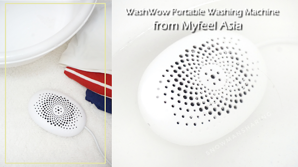 WashWow Portable Washing Machine from Myfeel Asia
