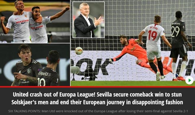 MU thua đau tại Europa League: Báo Anh thất vọng, chỉ ra 2 điểm yếu 3