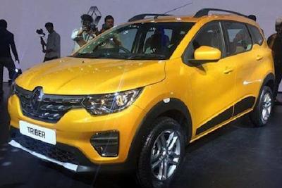 Harga Renault Triber 2019 Lengkap Spesifikasinya
