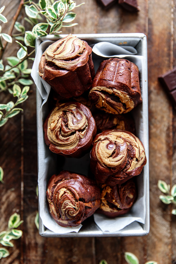 How to make Chocolate & Peanut Butter Muffins