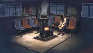 5 Centimeters per Second Akari setia menunggu Takaki di stasiun