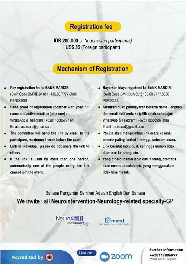 International Virtual Conference: Neurointervention    ASEAN Neurointervension Asosiation (ANIA) with PP PERDOSSI