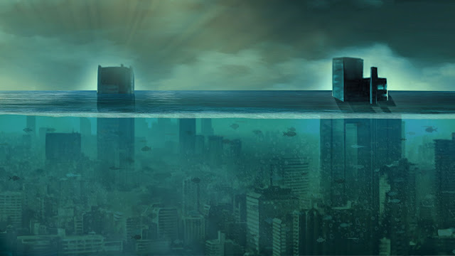 If North America Suddenly Sank Into the Oceans?