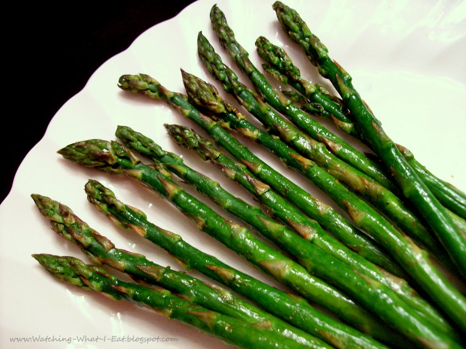 Watching What I Eat: asparagus