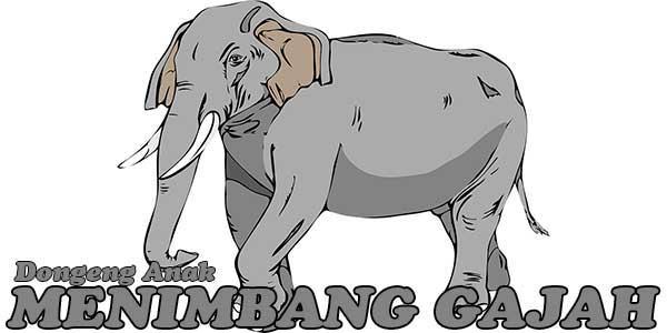 Menimbang Gajah, Dongeng Anak Tiongkok