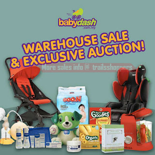 Baby Dash Malaysia are inviting You to Babydash first ever warehouse sale