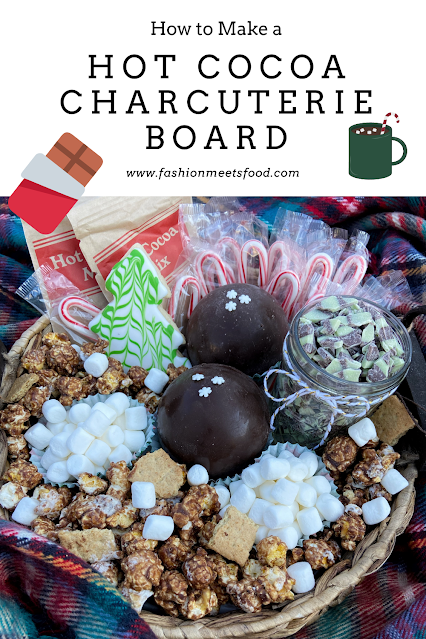 how to make a hot chocolate charcuterie board