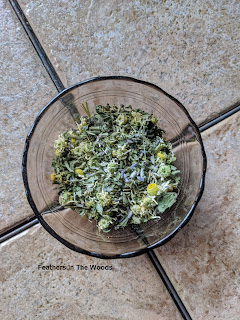 Herbs for a sleep tea