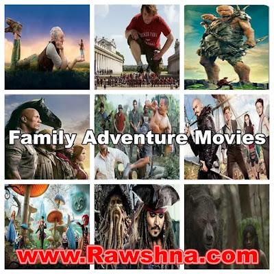 افضل 10 افلام مغامرات عائلية وخيالية فى العالم