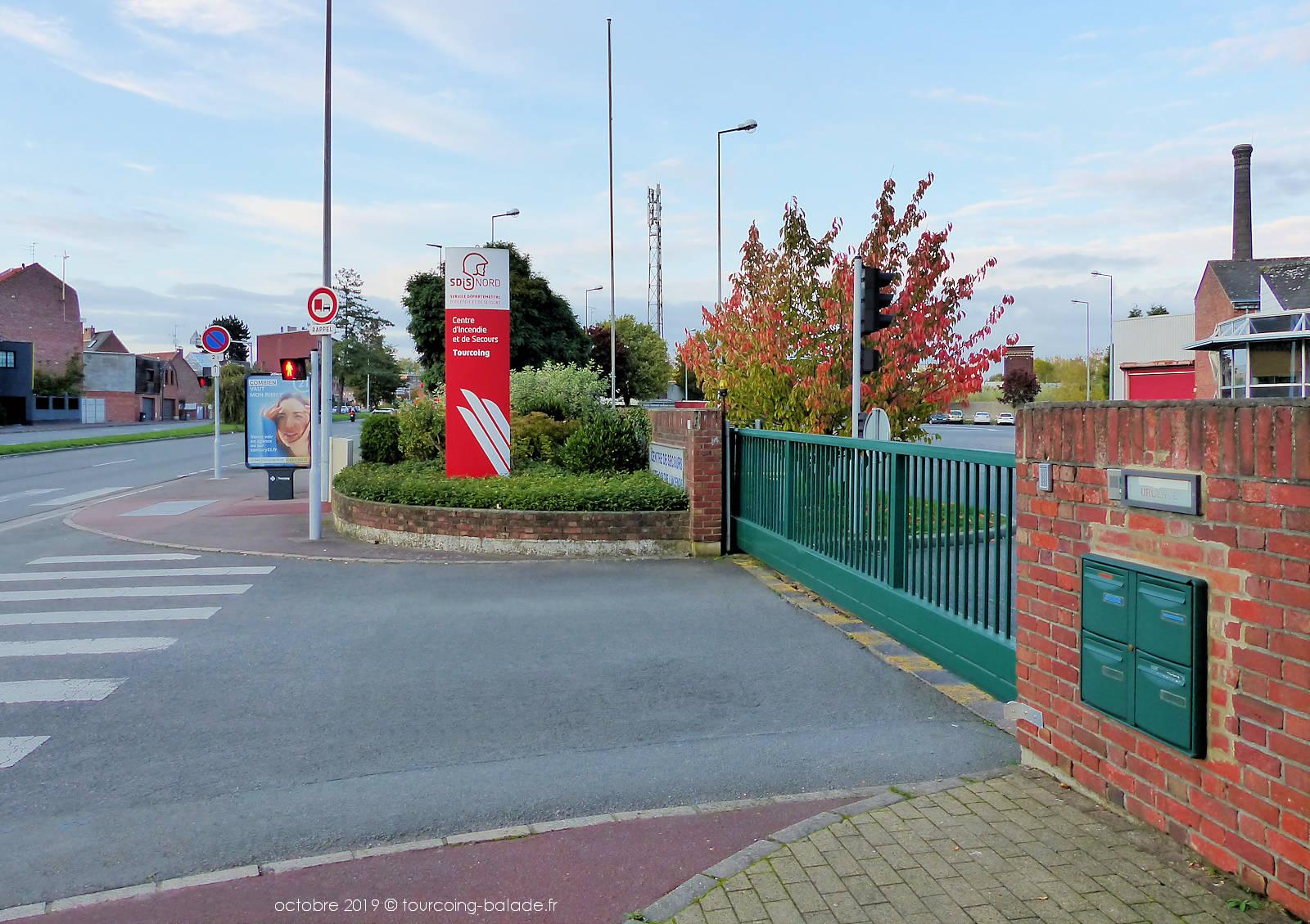 Tourcoing SDIS - Entrée chaussée Berthelot