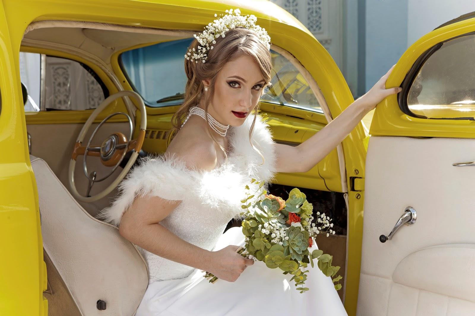 Beleza Moda Retr Inspirao Para Noivas