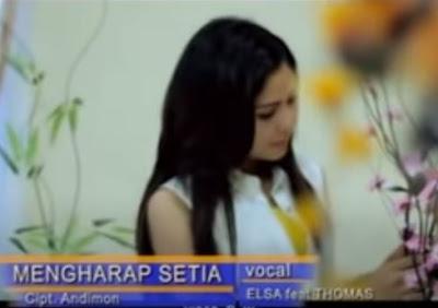 Lirik Lagu Pof Malaysia Thomas Arya Feat Elsa Pitaloka - Mengharap Setia